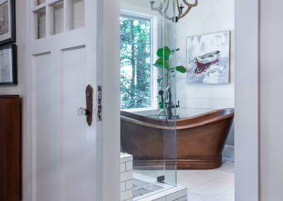 Lake Lanier Master Bathroom and Basement Remodel – Gainesville, GA