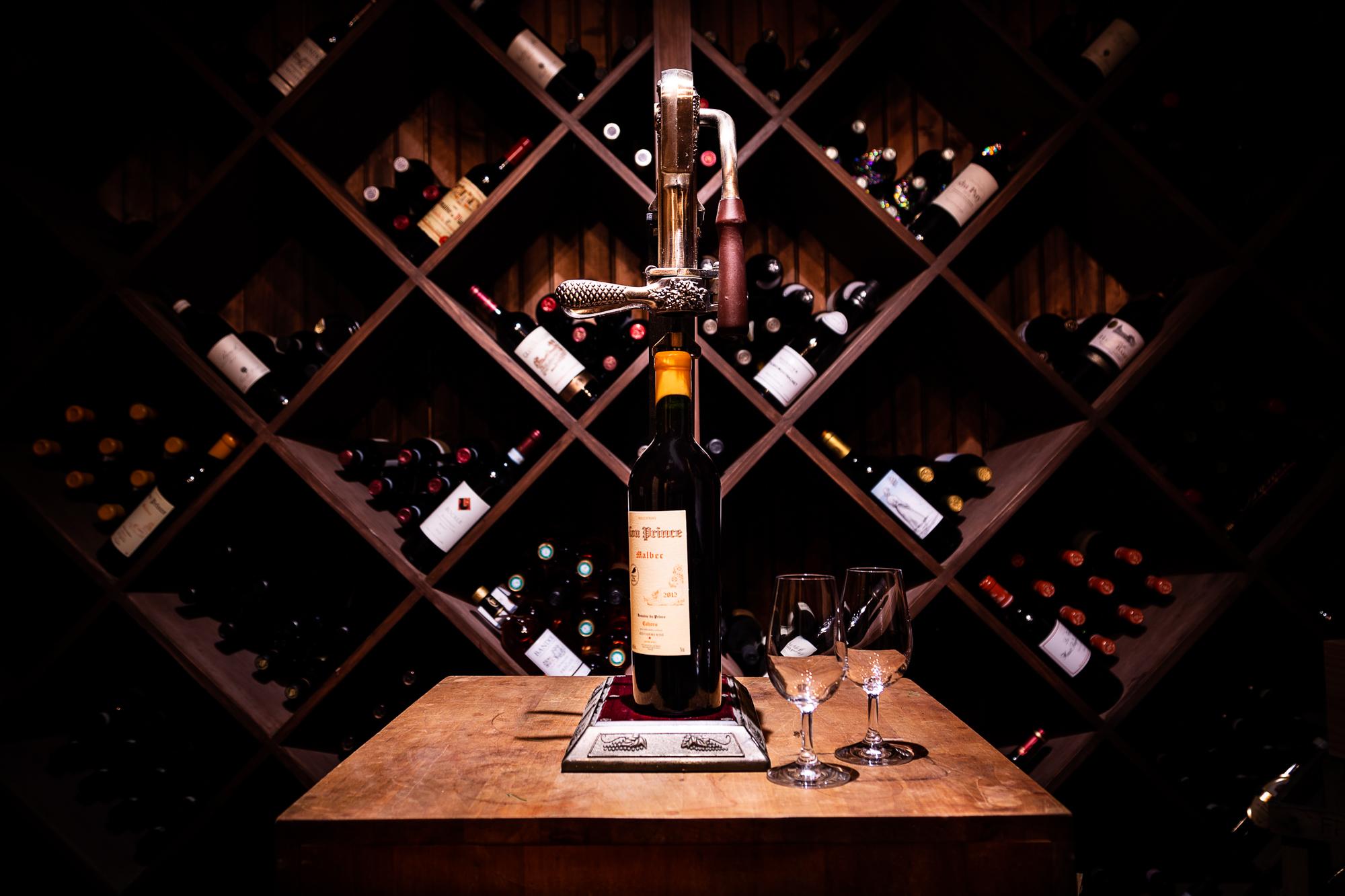 wine cellar basement remodel