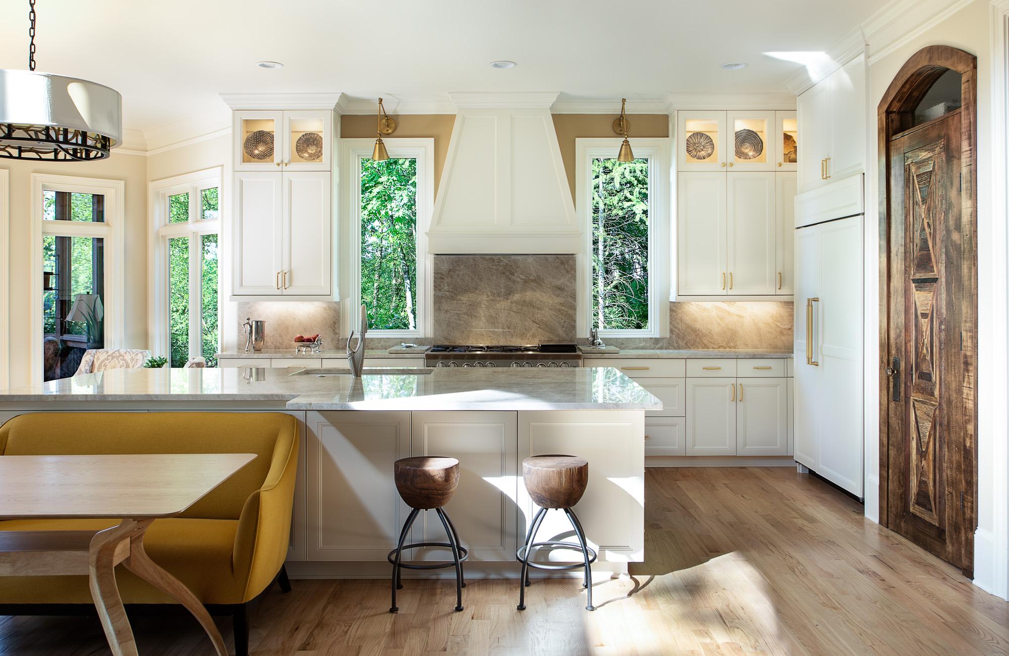 mid century modern kitchen remodel dawsonville georgia